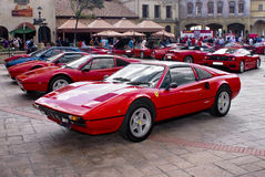 Το Ferrari εμφανίζει ημέρα - 308GTS Στοκ φωτογραφίες με δικαίωμα ελεύθερης χρήσης
