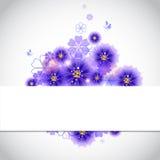 Floral υπόβαθρο Στοκ εικόνα με δικαίωμα ελεύθερης χρήσης