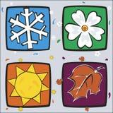 Το Four Seasons Απεικόνιση αποθεμάτων