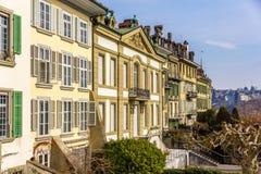 Το frisching-Haus στην παλαιά πόλη της Βέρνης Στοκ Φωτογραφία