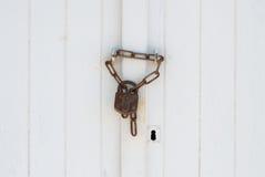 Το Frontside μιας κλειδαριάς Στοκ εικόνες με δικαίωμα ελεύθερης χρήσης