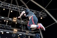 Το Fucked επάνω στη ζώνη εκτελεί σε Primavera το υγιές φεστιβάλ του 2015 Στοκ φωτογραφία με δικαίωμα ελεύθερης χρήσης