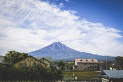το fuji επικολλά στοκ εικόνες με δικαίωμα ελεύθερης χρήσης