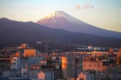 το fuji Ιαπωνία 100km επικολλά το δυτικό χειμώνα όψης του Τόκιο Στοκ Εικόνα