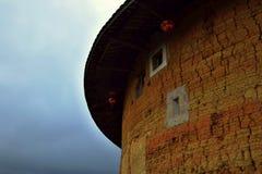 Το Fujian Tulou, η κινεζική αγροτική χωμάτινη κατοικία μοναδική στη μειονότητα Hakka στην επαρχία Fujian στην Κίνα στοκ φωτογραφίες με δικαίωμα ελεύθερης χρήσης