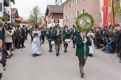 Το Gebirgsschà ¼ η επιχείρηση Schliersee Στοκ φωτογραφία με δικαίωμα ελεύθερης χρήσης