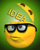 Το Geek με ένα ανοιχτό μυαλό 2 Στοκ εικόνες με δικαίωμα ελεύθερης χρήσης