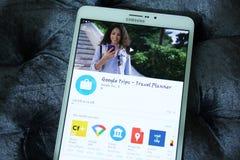 Το Google σκοντάφτει κινητό app Στοκ φωτογραφίες με δικαίωμα ελεύθερης χρήσης
