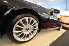 Το gran coupe της BMW 640i στην επίδειξη κατά τη διάρκεια του γιοτ της Σιγκαπούρης παρουσιάζει σε έναν βαθμό 15 όρμο Sentosa λεσχώ Στοκ φωτογραφίες με δικαίωμα ελεύθερης χρήσης