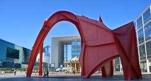 Το Grande Arche Στοκ Φωτογραφίες