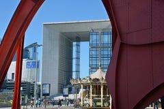 Το Grande Arche Στοκ Φωτογραφία
