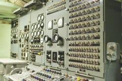 Το Growler USS υποβρύχιο κέντρο Δ ελέγχων και καθοδήγησης βλημάτων Στοκ φωτογραφίες με δικαίωμα ελεύθερης χρήσης