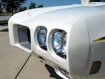 το gto Pontiac αυτοκινήτων του 1970 εμφανίζει Στοκ Εικόνα