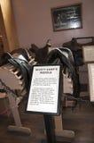 Το Gunfight στον ΕΝΤΑΞΕΙ συγκεντρώνει στην ταφόπετρα Αριζόνα στις ΗΠΑ Στοκ φωτογραφία με δικαίωμα ελεύθερης χρήσης