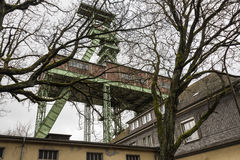 Το headframe του ορυχείου Georg σε Willroth, Γερμανία Στοκ φωτογραφία με δικαίωμα ελεύθερης χρήσης