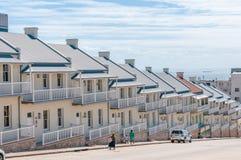 Το Hhistoric διπλός-τα ημιαποσπασμένα σπίτια Στοκ φωτογραφίες με δικαίωμα ελεύθερης χρήσης