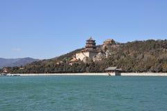 Το Hill μακροζωίας στη λίμνη Kunming Στοκ φωτογραφίες με δικαίωμα ελεύθερης χρήσης