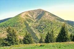 Το Hill που ονομάζεται Stoh Στοκ Εικόνες