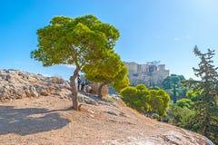 Το Hill Areopagus Στοκ Εικόνες