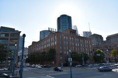 Το Hill Bros Καφές που χτίζει το Σαν Φρανσίσκο, 2 στοκ εικόνα