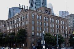 Το Hill Bros Καφές που χτίζει το Σαν Φρανσίσκο, 3 στοκ εικόνες με δικαίωμα ελεύθερης χρήσης