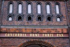Το Holstentor σε Luebeck Στοκ Φωτογραφίες