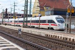 Το ICE 3, intercity-εκφράζει το τραίνο από Deutsche Bahn στοκ φωτογραφίες με δικαίωμα ελεύθερης χρήσης