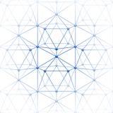 Το Icosahedron με το φραγμό συνδέει Στοκ φωτογραφίες με δικαίωμα ελεύθερης χρήσης