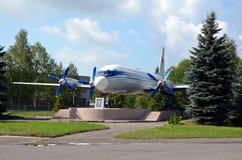 Το Ilyushin IL-18 Στοκ Φωτογραφίες