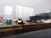 Το impressionism μιας βροχερής ημέρας στοκ φωτογραφίες με δικαίωμα ελεύθερης χρήσης