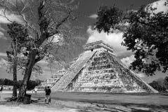 το itza Μεξικό Μια από τις μεγαλύτερες των Μάγια πόλεις Στοκ Εικόνες