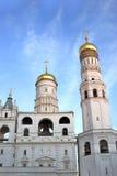Το Ivan ο μεγάλος κουδούνι-πύργος σύνθετος Στοκ Εικόνες