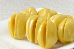 Jackfruit, διάσημα τροπικά φρούτα Στοκ εικόνα με δικαίωμα ελεύθερης χρήσης