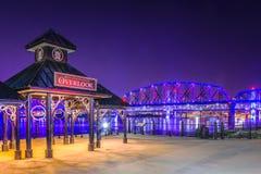 Το Jeffersonville Ιντιάνα αγνοεί Στοκ Φωτογραφία