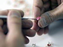 Το jeweler Στοκ Εικόνες