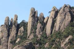 Το Jiangxi Κίνα Shangrao τοποθετεί Sanqingshan Στοκ φωτογραφίες με δικαίωμα ελεύθερης χρήσης