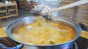 Το Jum zab είναι thaifood ύφος Στοκ εικόνα με δικαίωμα ελεύθερης χρήσης