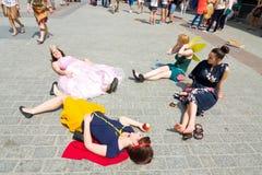 Το Juwenalia, είναι ετήσιες διακοπές των σπουδαστών στην Πολωνία Στοκ Εικόνες