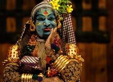 Το Kathakali παρουσιάζει Στοκ Εικόνες