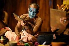 Το Kathakali παρουσιάζει Στοκ Εικόνα