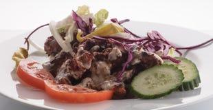 Το Kebab, τουρκικά τρόφιμα, παίρνει μαζί στοκ φωτογραφίες
