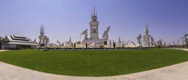 Το KhA Hatsadiling έχτισε για Luang Phor Koon Parisuttho σε Khon Kaen στην Ταϊλάνδη στοκ φωτογραφία