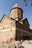 Το Khor Virap το βαθύ μπουντρούμι είναι ένα αρμενικό μοναστήρι τοποθετημένο Στοκ εικόνες με δικαίωμα ελεύθερης χρήσης