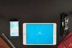 Το KLM App Στοκ φωτογραφία με δικαίωμα ελεύθερης χρήσης