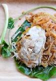 Το Korat's ανακατώνει τα τηγανισμένα νουντλς ύφους νουντλς ταϊλανδικά στοκ εικόνες