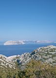 Kvarner, αδριατική θάλασσα, Κροατία Στοκ φωτογραφίες με δικαίωμα ελεύθερης χρήσης