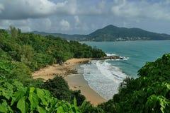 Το Laem τραγουδά την παραλία Phuket Στοκ Εικόνες