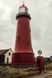 Το Lage van IJmuiden Lighthouse Στοκ φωτογραφία με δικαίωμα ελεύθερης χρήσης