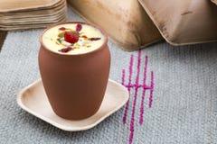 Το Lassi γλυκό πίνει τα τρόφιμα Στοκ εικόνα με δικαίωμα ελεύθερης χρήσης
