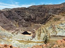 Το Lavender ορυχείο σε Bisbee, Αριζόνα στοκ φωτογραφίες